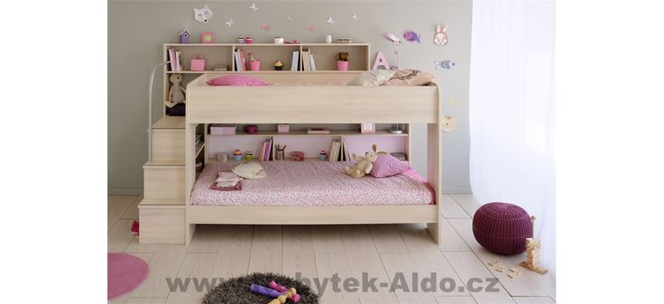 Patrová postel pro dvě děti