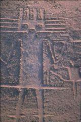 Mysterious Artworks in the Atacama Desert of Chile: The Atacama Giant: Geoglyph of Cerro Unita, Pozo Almonte, Chile