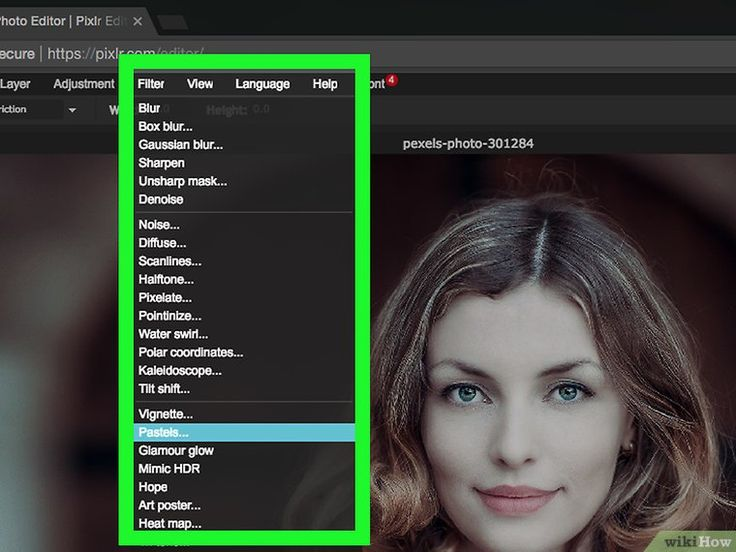 How to Use the Pixlr Online Image Editor: 8 Steps (with Pictures)