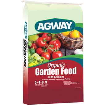 AGWAY ORGANIC GARDEN FOOD WITH CALCIUM 5 4 3 20 LB (10214799) · Home And  GardenCatalogVeggie ...
