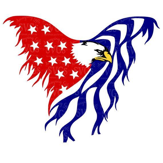 Eagle Flag svg Patriotic svg 4th of July svg Memorial Day svg Military svg Red White Blue svg American Flag svg Eagle svg Tshirt svg
