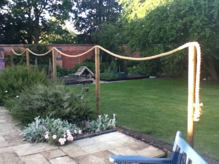 Best Garden Images On Pinterest Hemp Ropes And Decking - Garden decking rope
