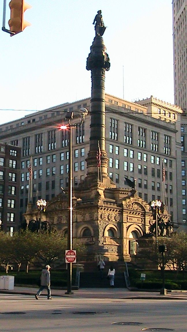 Soldiers and Sailors Monument, Public Square, Cleveland Ohio