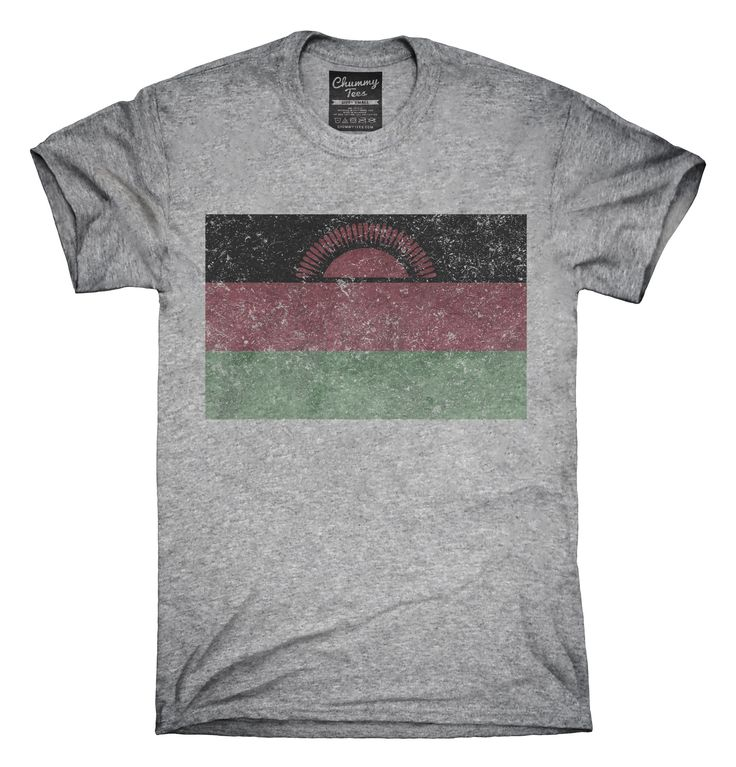 Retro Vintage Malawi Flag T-Shirts, Hoodies, Tank Tops