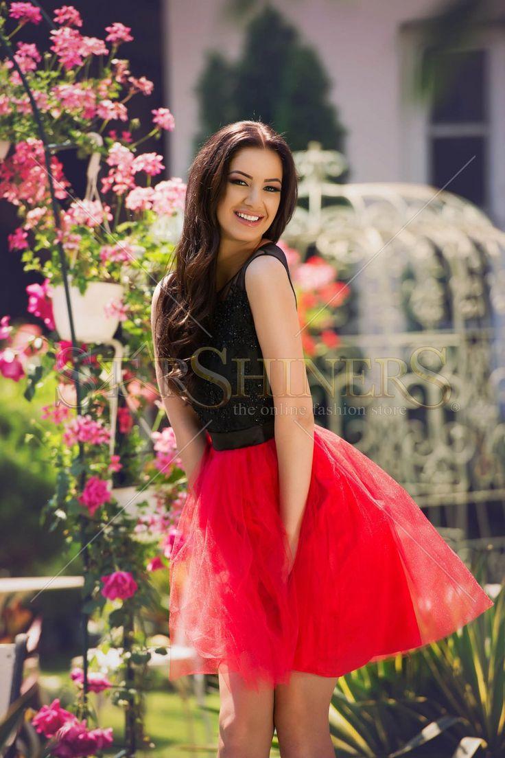LaDonna Glittery Desire Black Dress