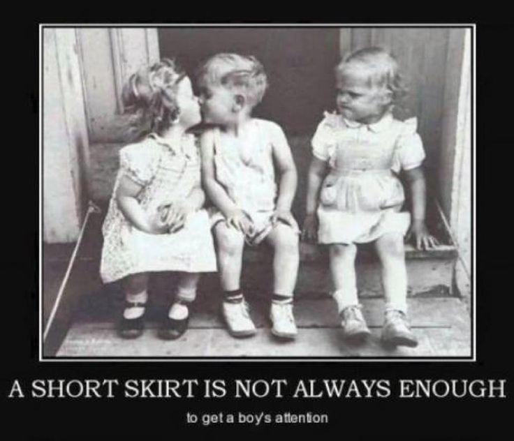 Funny Kissy Face Meme : A short skirt is not always enough entrepreneurs humor