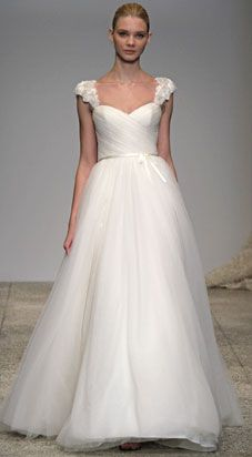 Discounted! 100% Authentic, New Christos Brisa T227 Discount Designer Wedding Dress | www.yourdreamdress.com