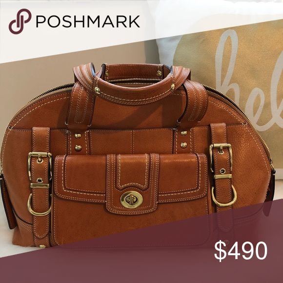 1b2811f35e3 Vintage Coach Miranda Bag Beautiful honey color vintage bag. This bag is in  perfect condition. Never used, kept in closet since 2008, … | My Posh Picks