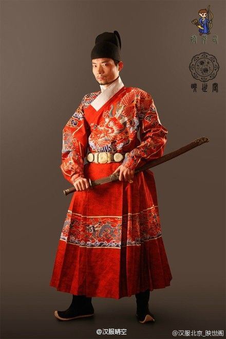 Ming dynasty imperial guard 汉服晴空的微博_微博