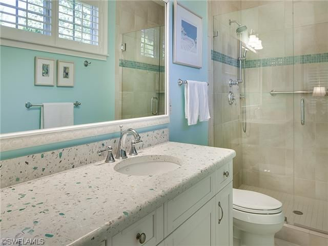 Coastal Bathroom Tile Ideas: 90 Best Images About Pool Bathroom Ideas On Pinterest
