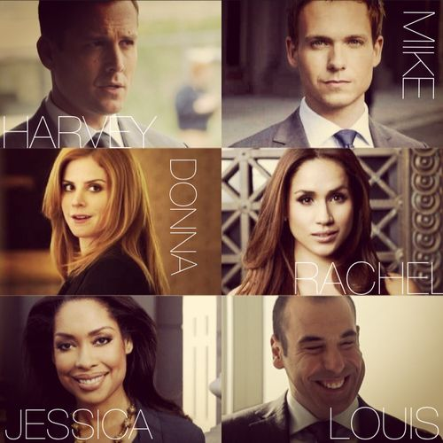 One of the slickest casts..... SUITS USA