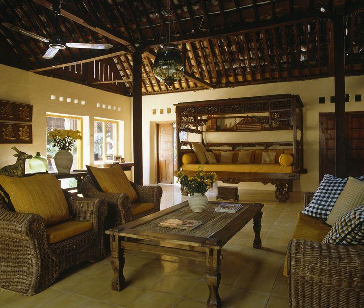 Yellow Country Family Room - Living Room Design Ideas - Zimbio