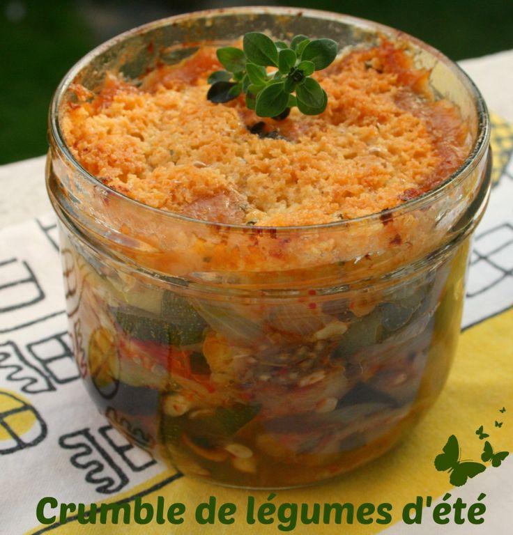 Crumble de légumes d'été {Battle Food #9}