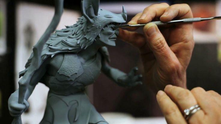 Vicki Saulls: Lead Sculptor - Blue Sky Studios