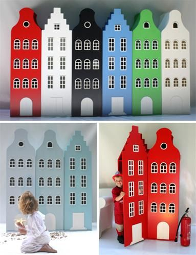 Een huis als kast in de kinderkamer.....A house as a closet in the kids room!