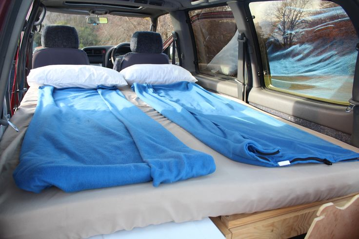 Camping with comfort. Sleep well! Van Bed My tiny house My DIY VAN CONVERSION!!!