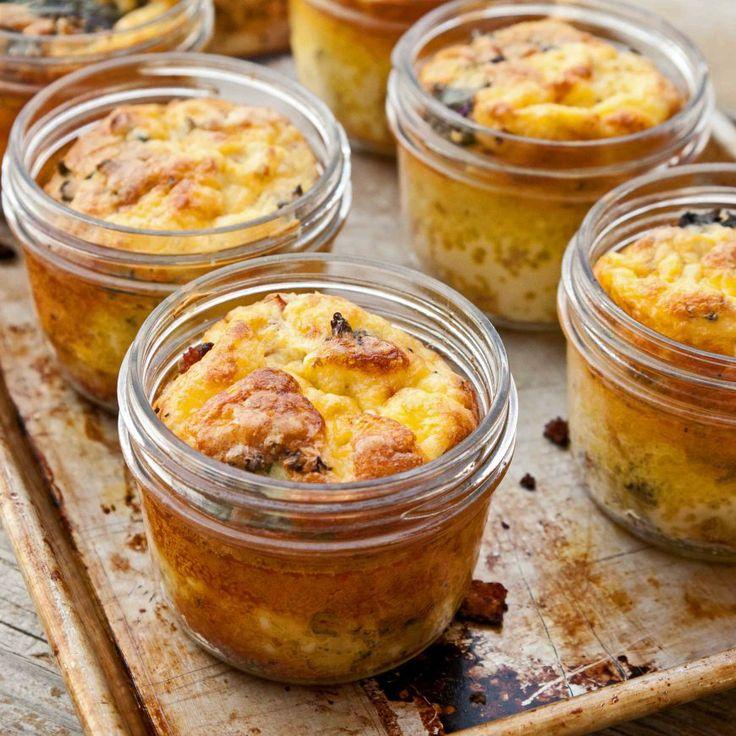 I like the idea of baking in the mini mason jars !