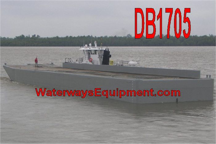 Db1705 195 X 35 X 10 5 New Material Barge Barge Deck 10 Things
