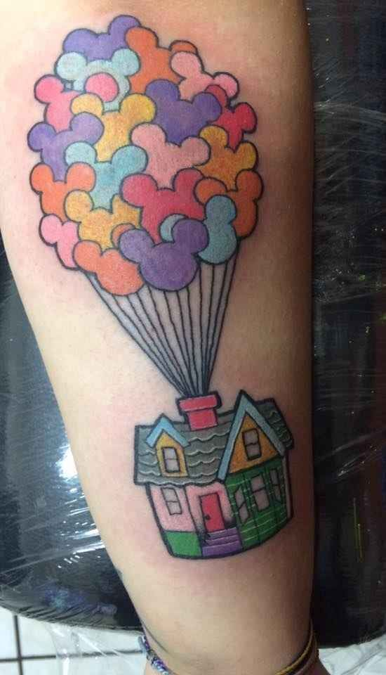 Disney Tattoos -                                                              Great fucking idea why didn't I think about that? I want a Disney leg and I was gonna put nightmare on my opposite leg of my alice but why not put it on my calf on my Disney leg that's awesome!!!