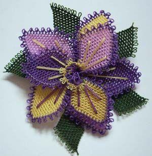 Purple Oya Flower
