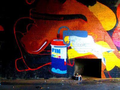 Street Art of North: Os Gemeos & EGS making fresh street art in Helsinki june 2017