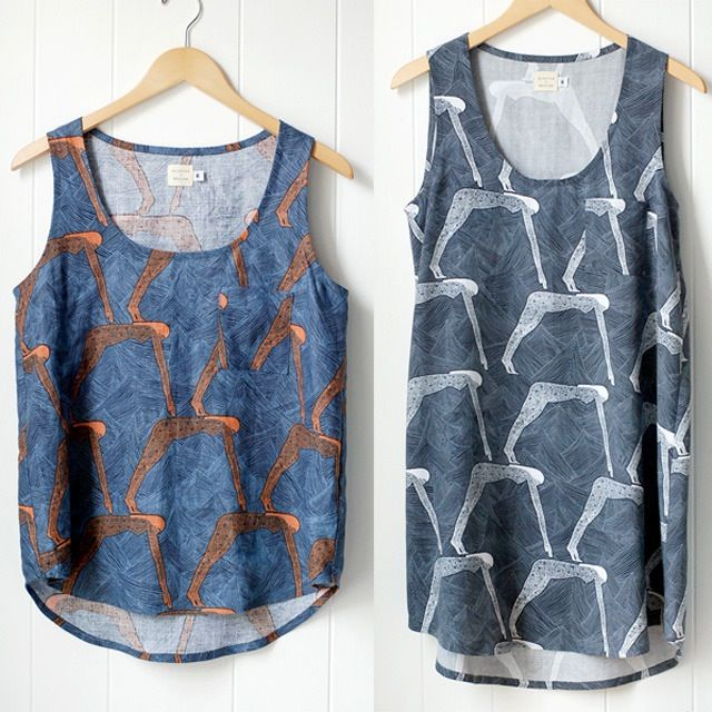 Image of Tank Sewing Pattern