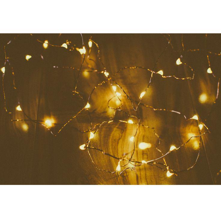 Vintage Lights Copper Wire Tiny Lights Lighten Up