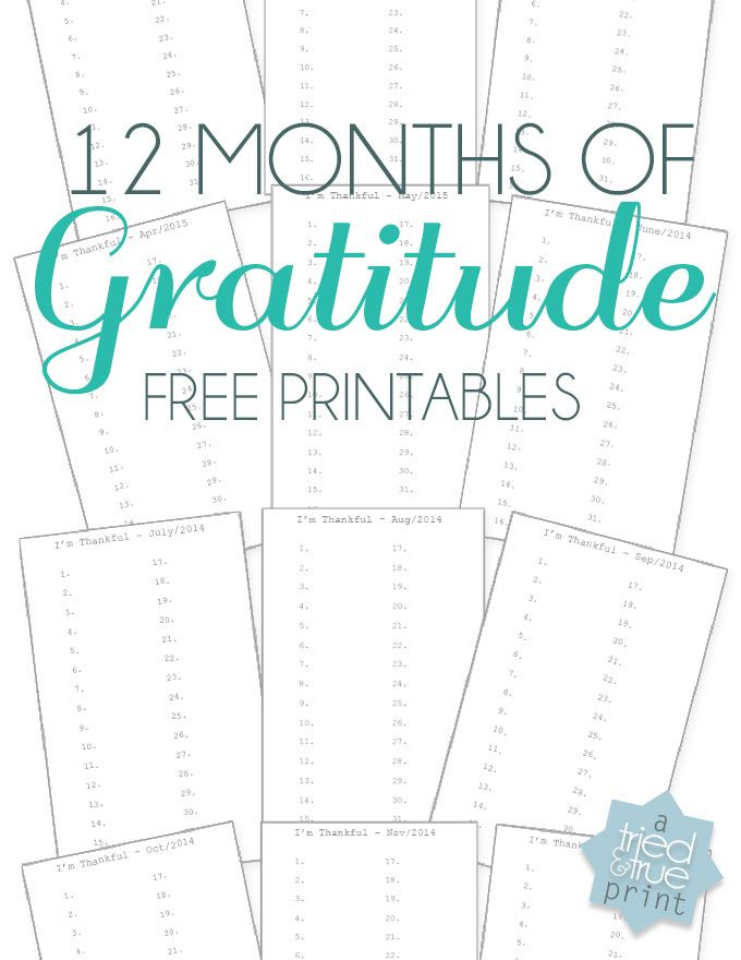 Use a Heidi Swapp Acrylic Desktop Stand to make a yearly Gratitude Journal. Includes free printable calendar pages.