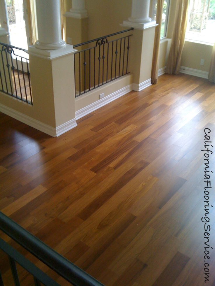 Hardwood Flooring Natural Teak