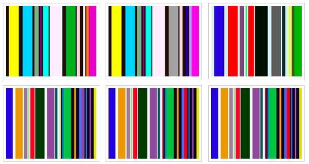 """Ligazón a Materiais educativos: """"Dimensións da Cor: guía do alumno"""" (castelán)     mezcla de colores             Ligazóns sobre..."""