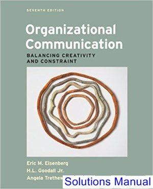 organizational-communication-balancing-creativity-and-constraint-7th-edition-eisenberg-solutions-manual