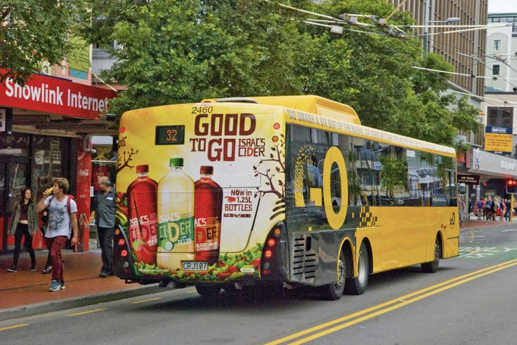 Isaacs Cider, Busback.