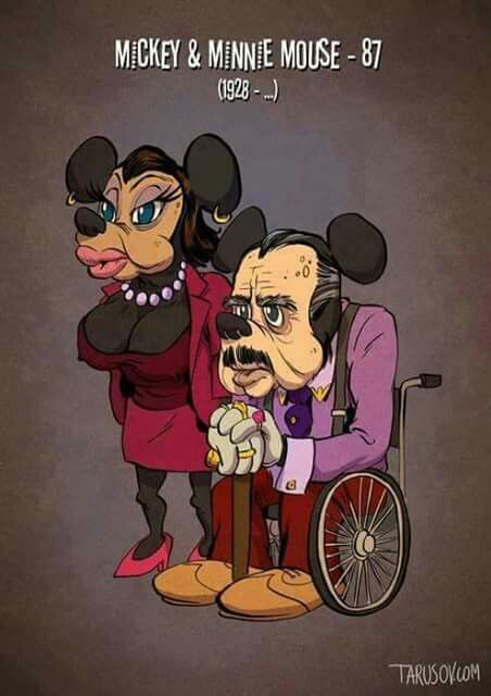 MIKEY and MINNIE MOUSE