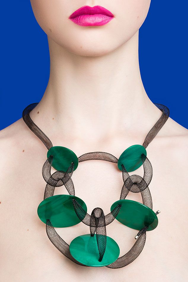 Drama Queen / Ad campaign for Rasa #Accessories SS15 collection. #Necklace