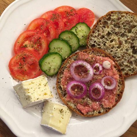 olles *Himmelsglitzerdings*: Chia-Brötchen mit Leinsamen und Quark Low Carb / LCHF / Keto