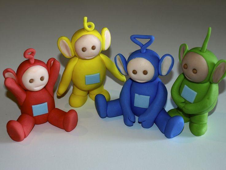 Cake Decorating Fondant Characters : Teletubbies   3D Figures Teletubbies Cakes Pinterest ...