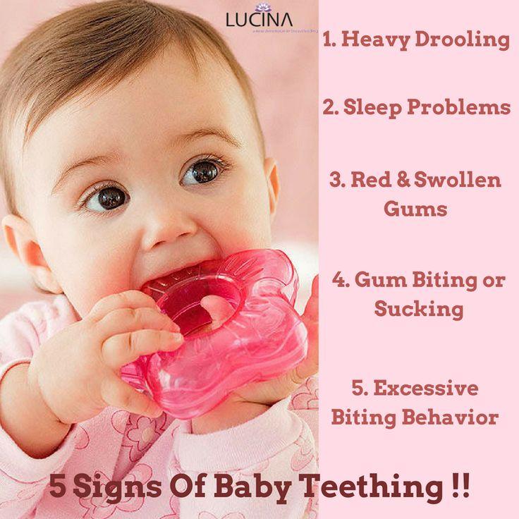 5 Signs Of Baby Teething!! #Babyteething #Babycare #Newborncare #Lucinacare