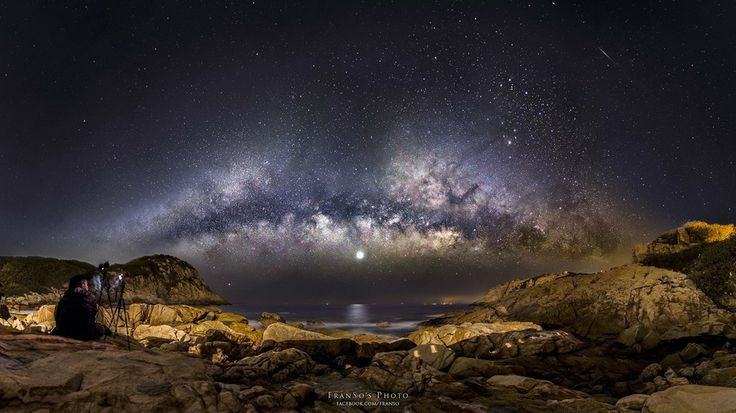 The rising milky way by Francis So on 500px ♥ Seguici su www.reflex-mania.com