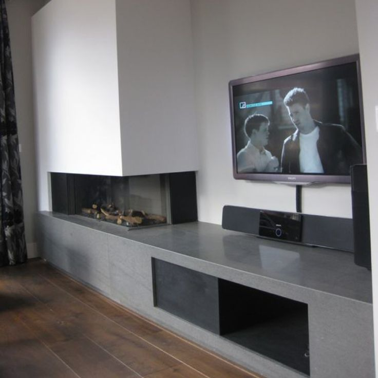 98 best Inbouw gashaard hoek images on Pinterest Fire places - tv wand