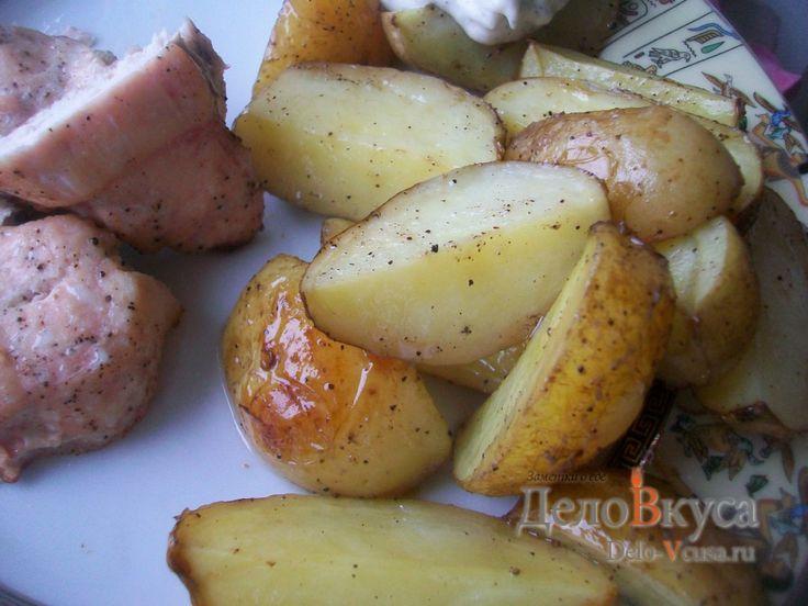 Картошка по-деревенски в духовке #картошка #картошкаподеревенски  #рецепты #деловкуса #готовимсделовкуса