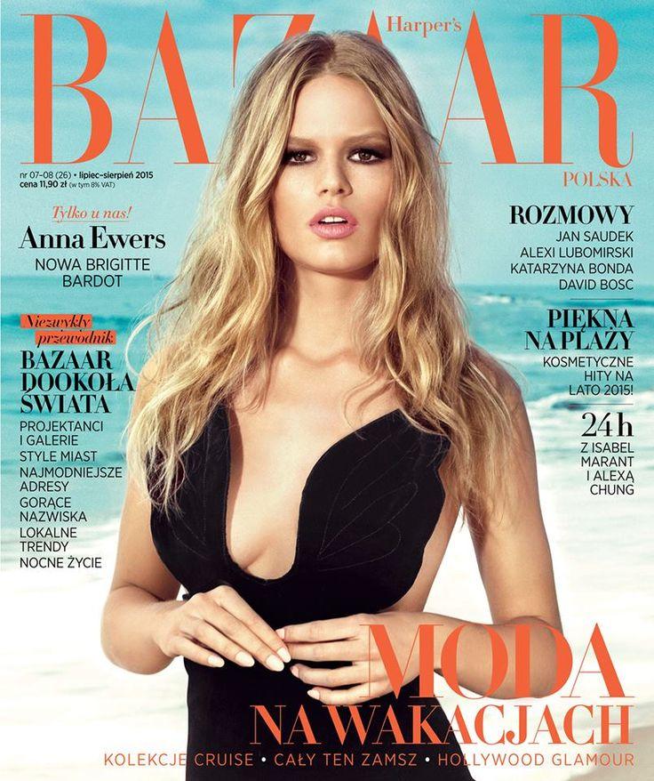 Harper`s Bazaar Polska- Anna Ewers