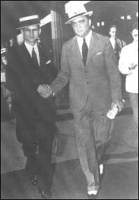 Melvin Purvis with J. Edgar Hoover