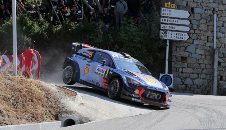 Neuville Hyundai I20 WRC  Vincitore Tour de Corse 2017