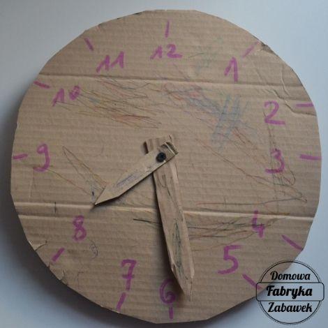 Nauka zegara dla dzieci, diy dla dzieci