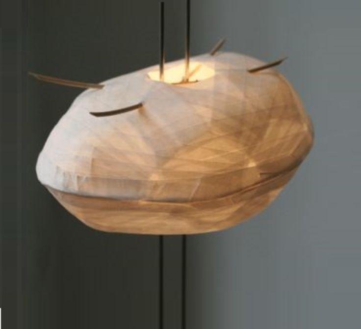 lampe poser cocon blanc h58cm celine wright. Black Bedroom Furniture Sets. Home Design Ideas