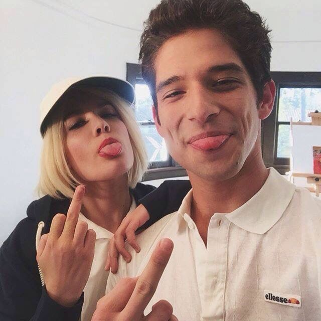 Halsey and Tyler Posey