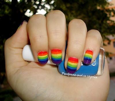 Nail Challenge: Rainbow | Pardonne-moi ce caprice