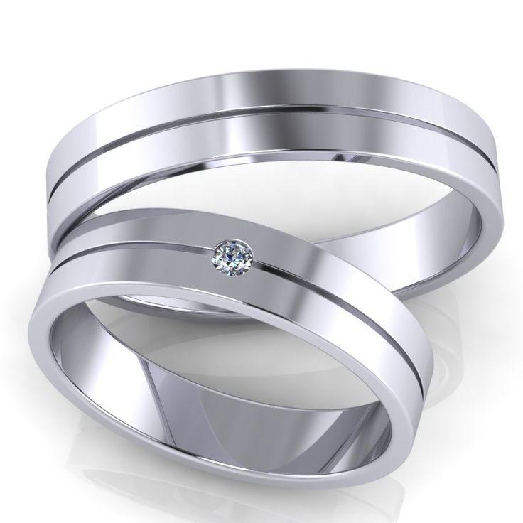 Обручальные кольца RS22