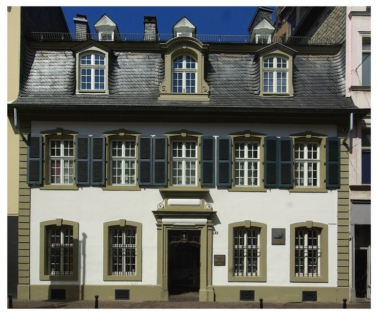Karl Marx Haus in Trier  https://en.wikipedia.org/wiki/Karl_Marx_House