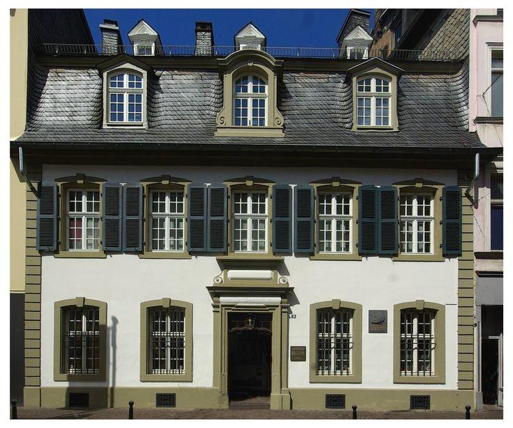 Karl Marx Haus in Trier  https://en.wikipedia.org/wiki/Karl_Marx_House